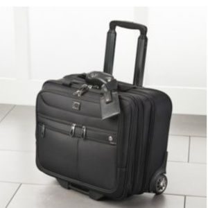 Rolling Briefcase (Mobile Office) LIKE NEW